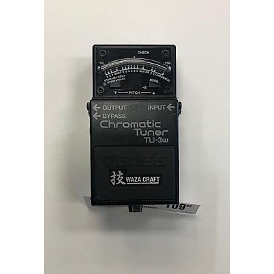 Boss TU3W Waza Craft Chromatic Tuner Pedal