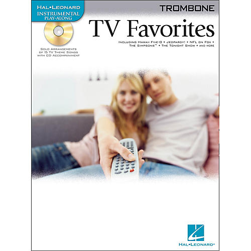 Hal Leonard TV Favorites for Trombone Book/CD