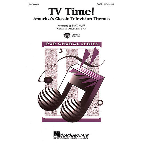 Hal Leonard TV Time! - America's Classic Television Themes SAB Arranged by Mac Huff
