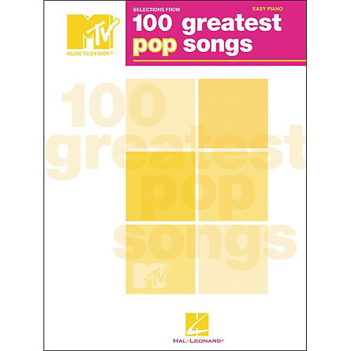 Hal Leonard TV's 100 Greatest Pop Songs For Easy Piano