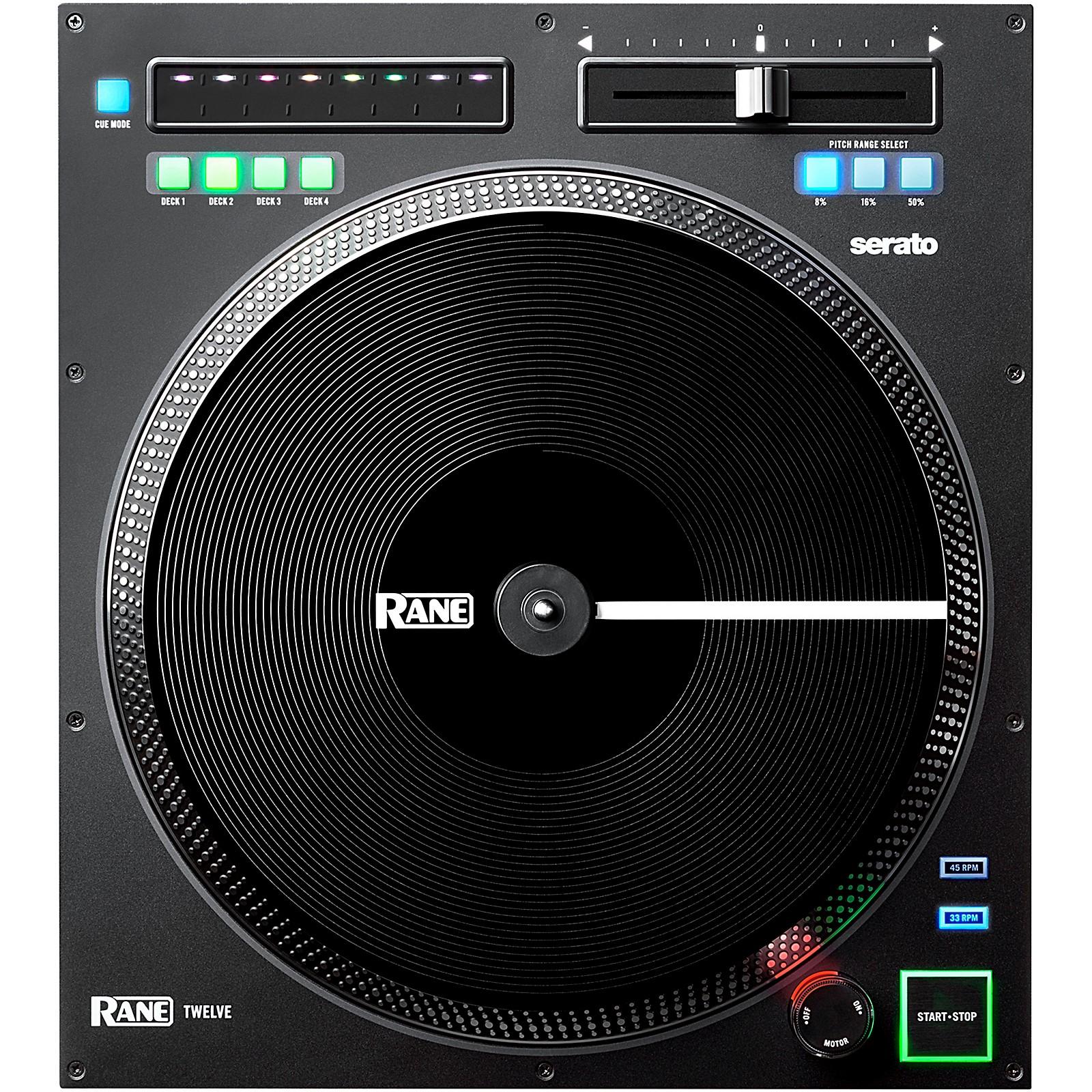 Rane TWELVE Motorized DJ Battle MIDI Controller