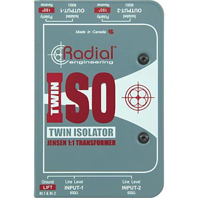 Radial Engineering TWIN ISO Passive Line-Level Isolator