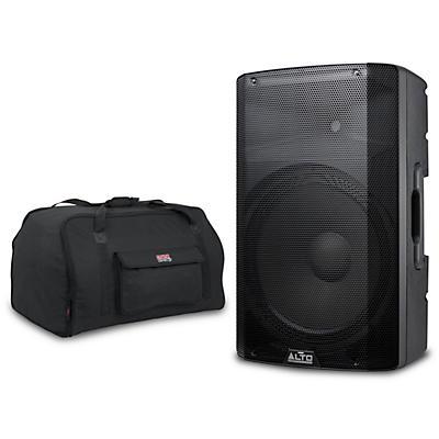 "Alto TX215 15"" 300W Powered Speaker wth Tote"