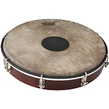 Tablatone Frame Drum Brown and White Skyndeep Fish Skin 10 in.
