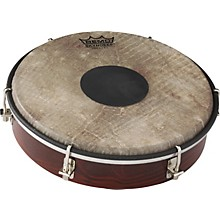 Tablatone Frame Drum Brown and White Skyndeep Fish Skin 8 in.