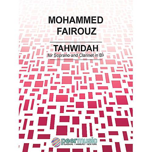 Peer Music Tahwidah Peermusic Classical Series Composed by Mohammed Fairouz