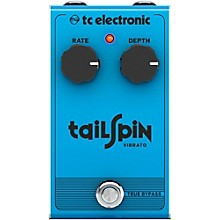 Open Box TC Electronic Tail Spin Vibrato Effect Pedal