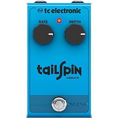 TC Electronic Tail Spin Vibrato Effect Pedal
