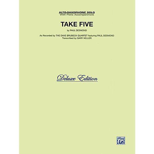 Alfred Take Five for Alto Sax The Dave Brubeck Quartet Book