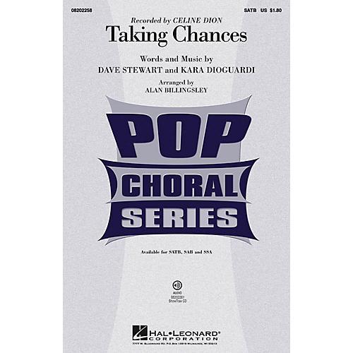 Hal Leonard Taking Chances ShowTrax CD by Celine Dion Arranged by Alan Billingsley