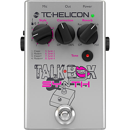 tc helicon talkbox synth guitar effects pedal musician 39 s friend. Black Bedroom Furniture Sets. Home Design Ideas