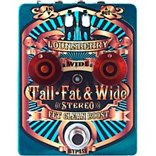 Lounsberry Pedals Tall, Fat & Wide Stereo Boost Effects Pedal
