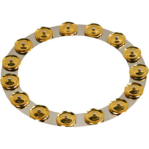 LP Tambo-Ring - Stainless Steel with Brass Jingles 14 in.