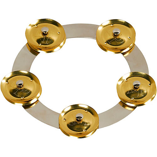 LP Tambo-Ring - Stainless Steel with Brass Jingles 6 in.