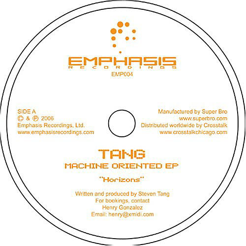 Alliance Tang - Machine Oriented