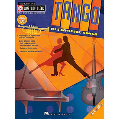Hal Leonard Tango - Jazz Play-Along Volume 175 Book/CD