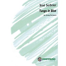 Peer Music Tango in Blue (Tango en Azul) Peermusic Classical Series Softcover Composed by José Serebrier