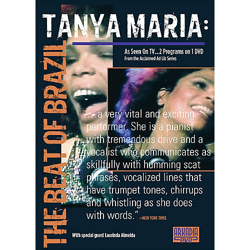 Hal Leonard Tanya Maria - The Beat of Brazil (Visions of Jazz Series) DVD Series DVD Performed by Tanya Maria