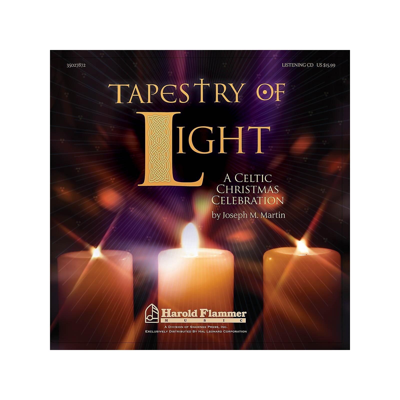 Shawnee Press Tapestry of Light (A Celtic Christmas Celebration) Listening CD composed by Joseph M. Martin