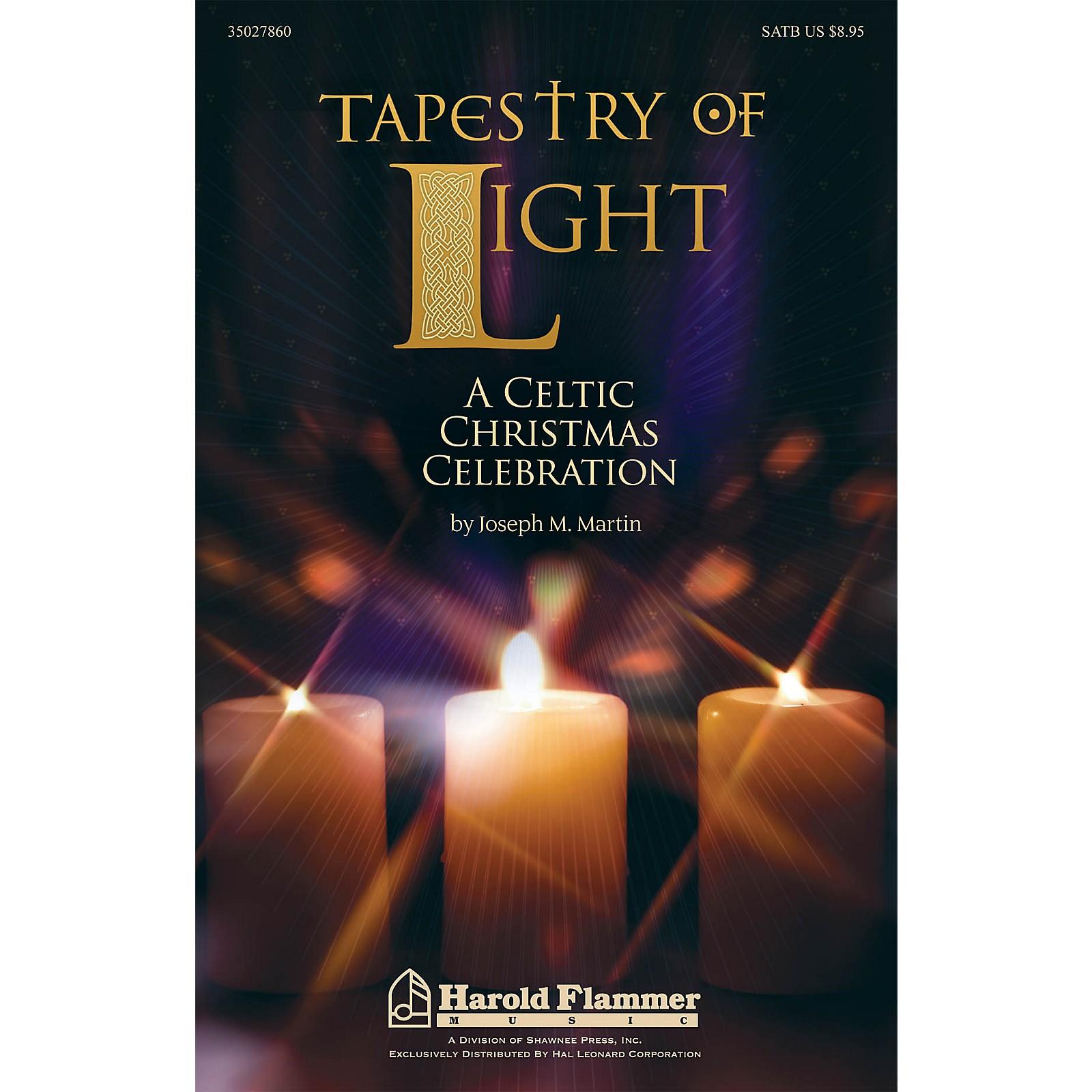 Shawnee Press Tapestry of Light (A Celtic Christmas Celebration) Studiotrax CD Composed by Joseph M. Martin