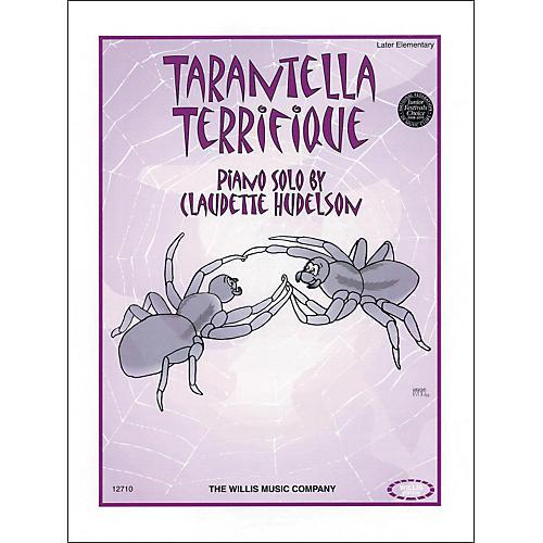 Willis Music Tarantella Terrifique Piano Later Elementary by Claudette Hudelson