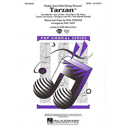 Hal Leonard Tarzan (Medley) 2-Part Arranged by Mac Huff