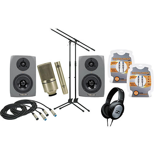 Musician's Gear Tascam Monitor and Mic Package