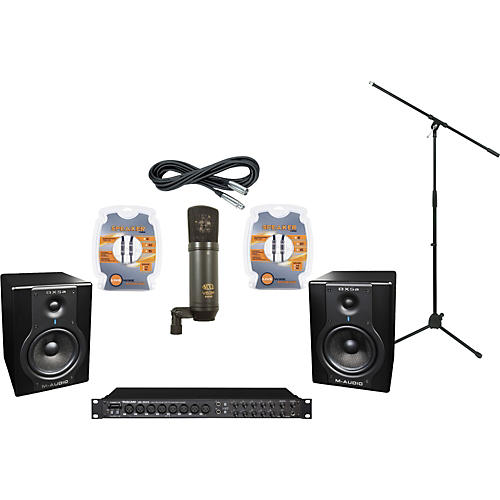 M-Audio Tascam US-1800 and M-Audio BX5a Recording Package
