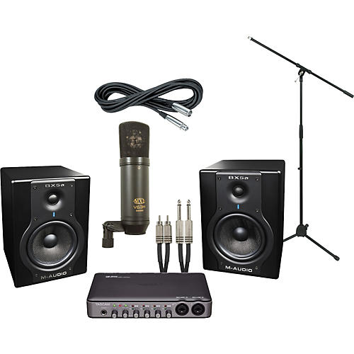 M-Audio Tascam US-600 and M-Audio BX5a Recording Package