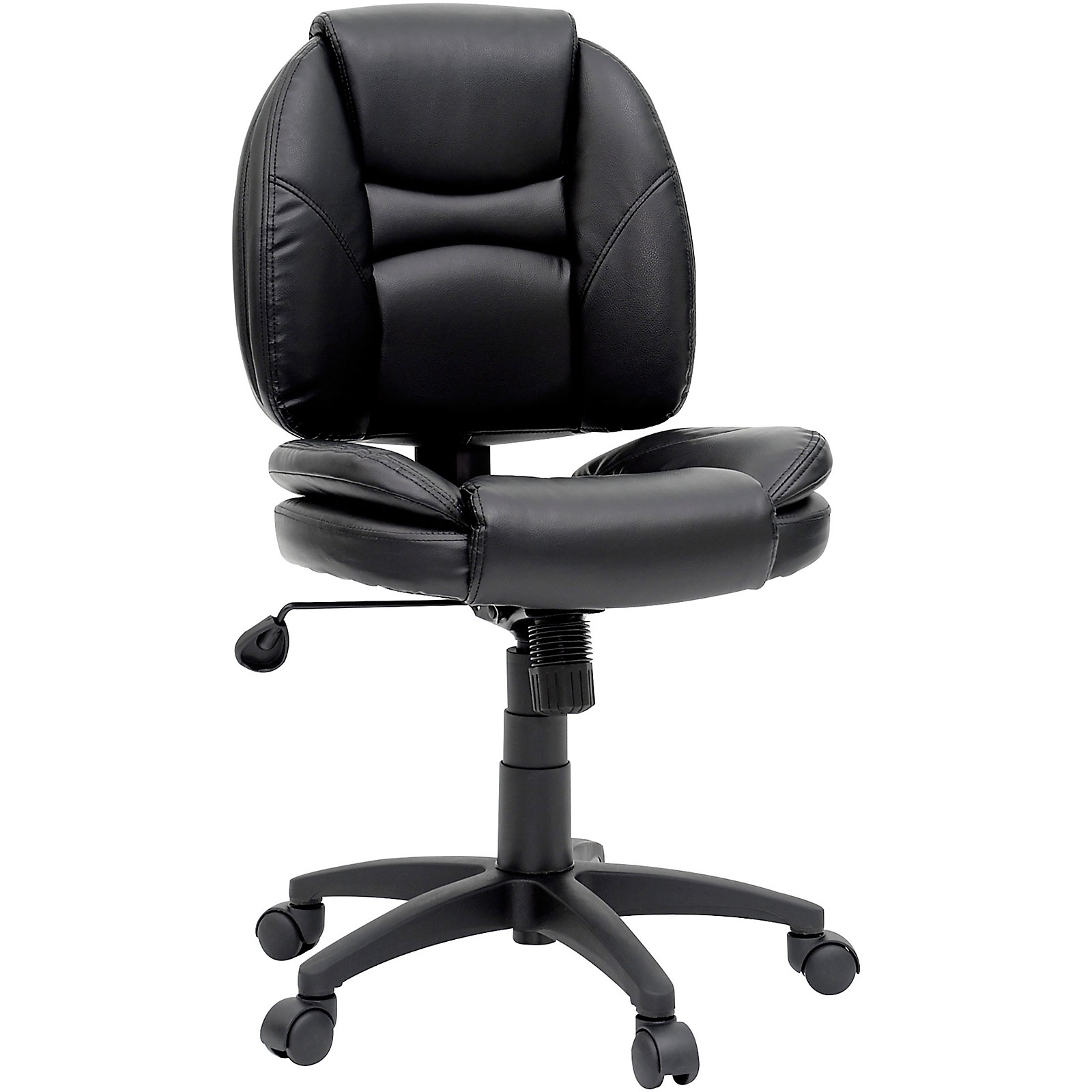 SAUDER WOODWORKING CO. Task Chair DuraPlush Black