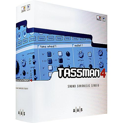 AAS Tassman 4 Sound Synthesis Studio Software