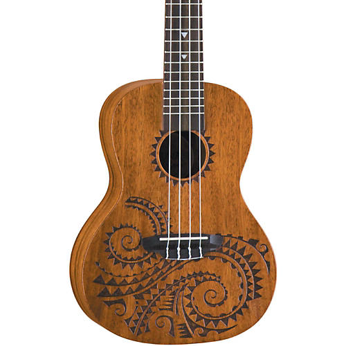 Luna Guitars Tattoo Concert Mahogany Ukulele Musician S