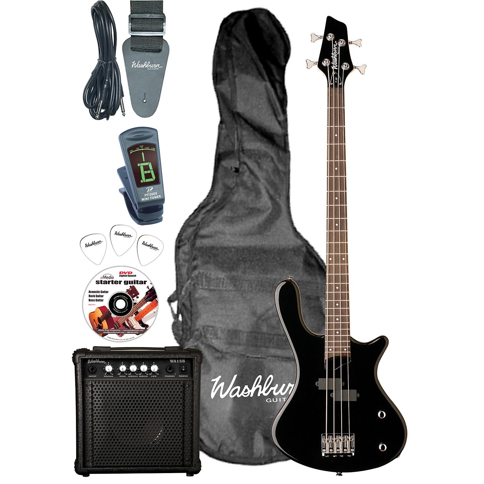 Washburn Taurus T12 Electric Bass Pack