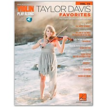 Hal Leonard Taylor Davis - Favorites Violin Play-Along Volume 73 Book/Audio Online