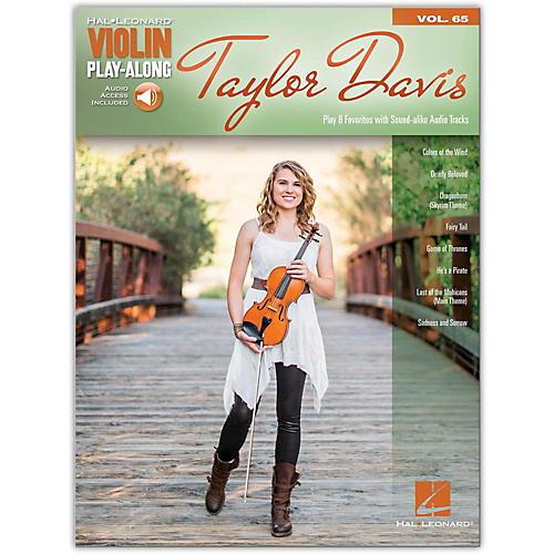Hal Leonard Taylor Davis  -Violin Play Along Vol. 65 (Book/Audio Online)