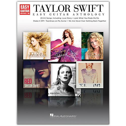 Hal Leonard Taylor Swift - Easy Guitar Anthology