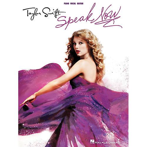 Hal Leonard Taylor Swift - Speak Now P/V/G Songbook