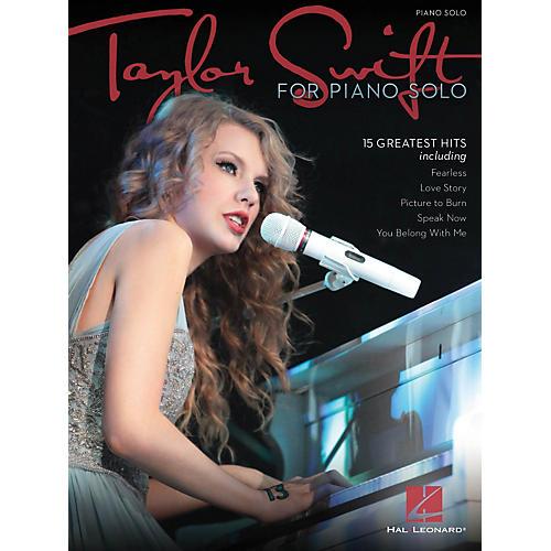 Hal Leonard Taylor Swift For Piano Solo