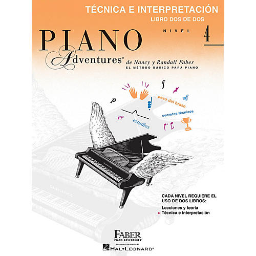 Faber Piano Adventures Téchnica e interpretación, Nivel 4 Faber Piano Adventures® Series by Randall Faber