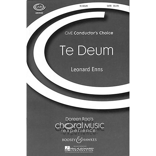 Boosey and Hawkes Te Deum (CME Conductor's Choice) SATB composed by Leonard Enns