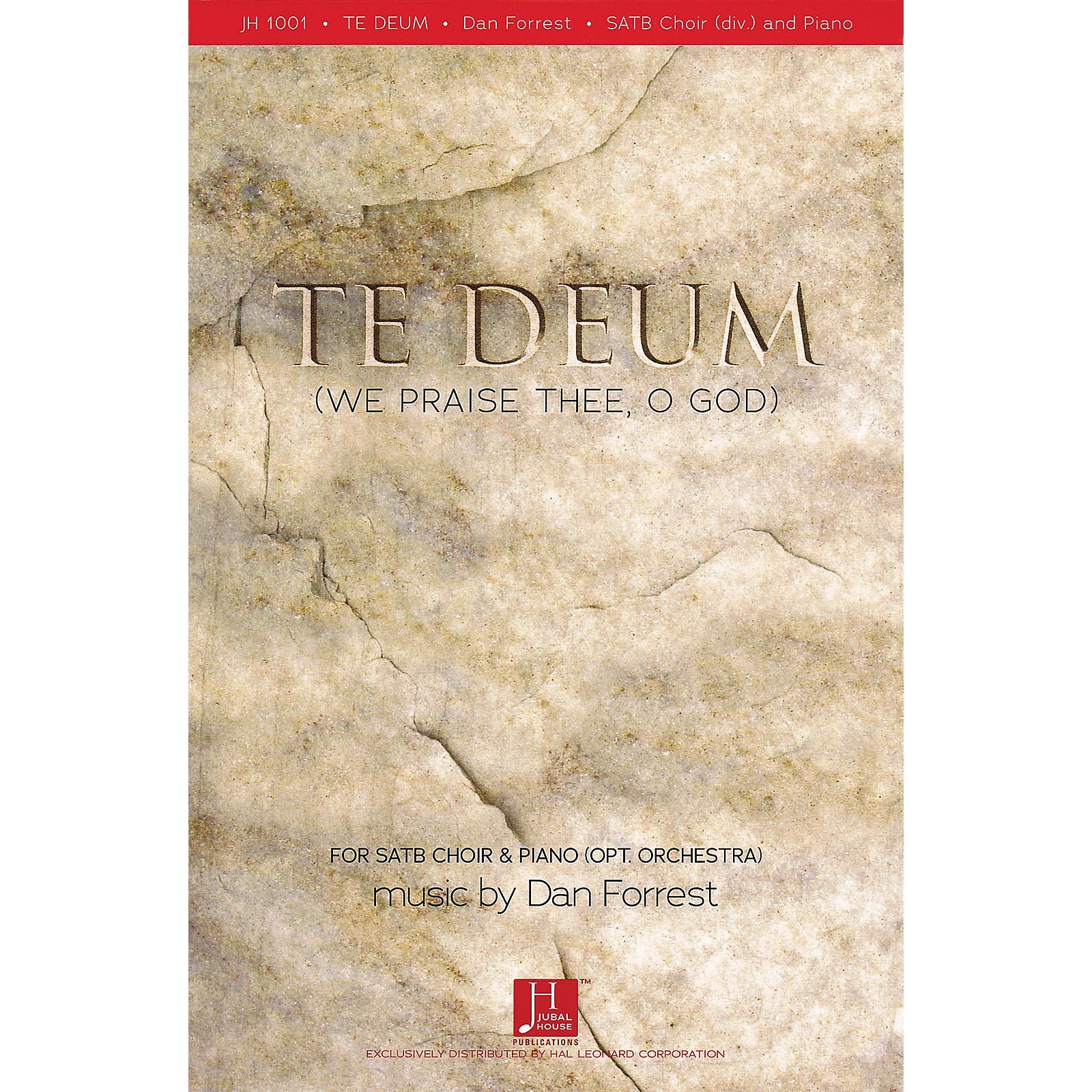 Fred Bock Music Te Deum (We Praise Thee, O God) Listening CD Composed by Dan Forrest