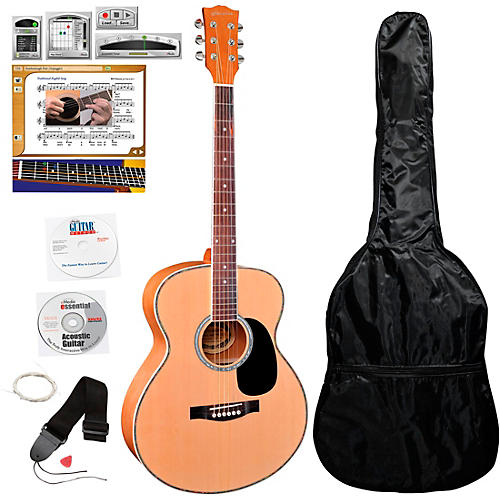 eMedia Teach Yourself Acoustic Guitar Pack - Steel String Natural
