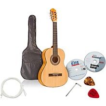 Open Box Emedia Teach Yourself Classical Guitar Pack - Nylon String