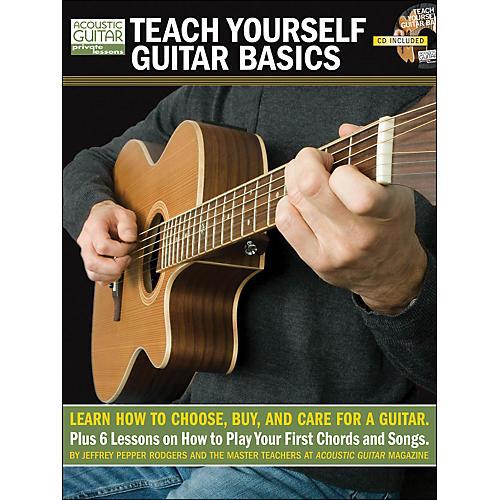 Hal Leonard Teach Yourself Guitar Basics (Book/CD Package)