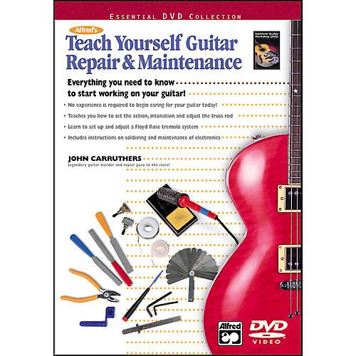 Alfred Teach Yourself Guitar Repair and Maintenance (Book/DVD)