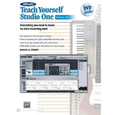 Alfred Teach Yourself Studio One Version 2.0 Book & DVD