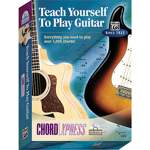 Alfred Teach Yourself To Play Guitar: ChordXpress CD-ROM