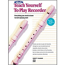 Alfred Teach Yourself To Play Recorder (Book)