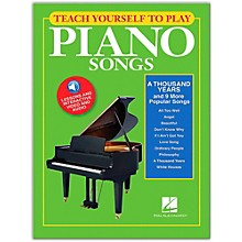 """Hal Leonard Teach Yourself to Play """"A Thousand Years"""" & 9 More Popular Songs on Piano Book/Video/Audio"""