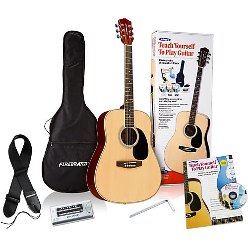 Alfred Teach Yourself to Play Acoustic Guitar Complete Starter